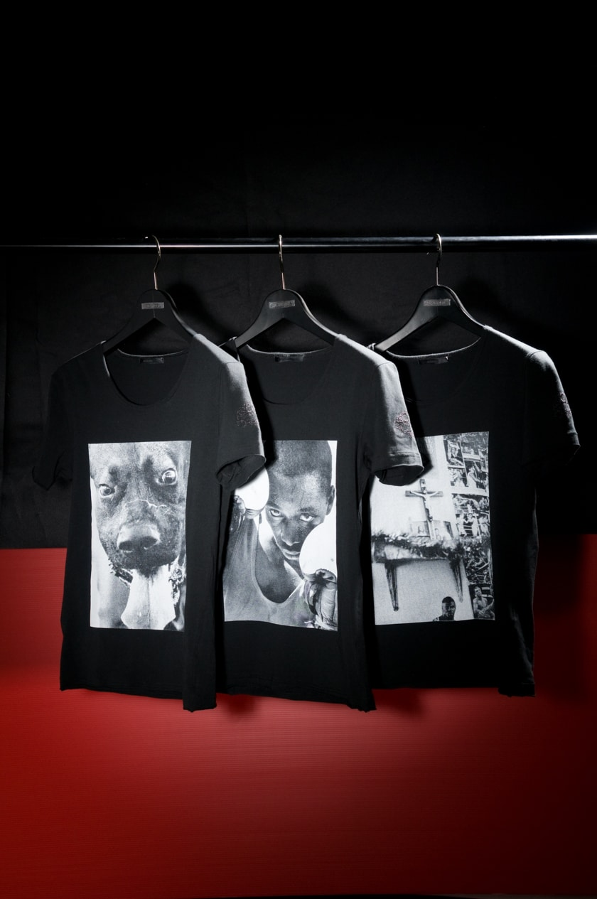 TEE-SHIRTS FOR COVER MAGAZINE