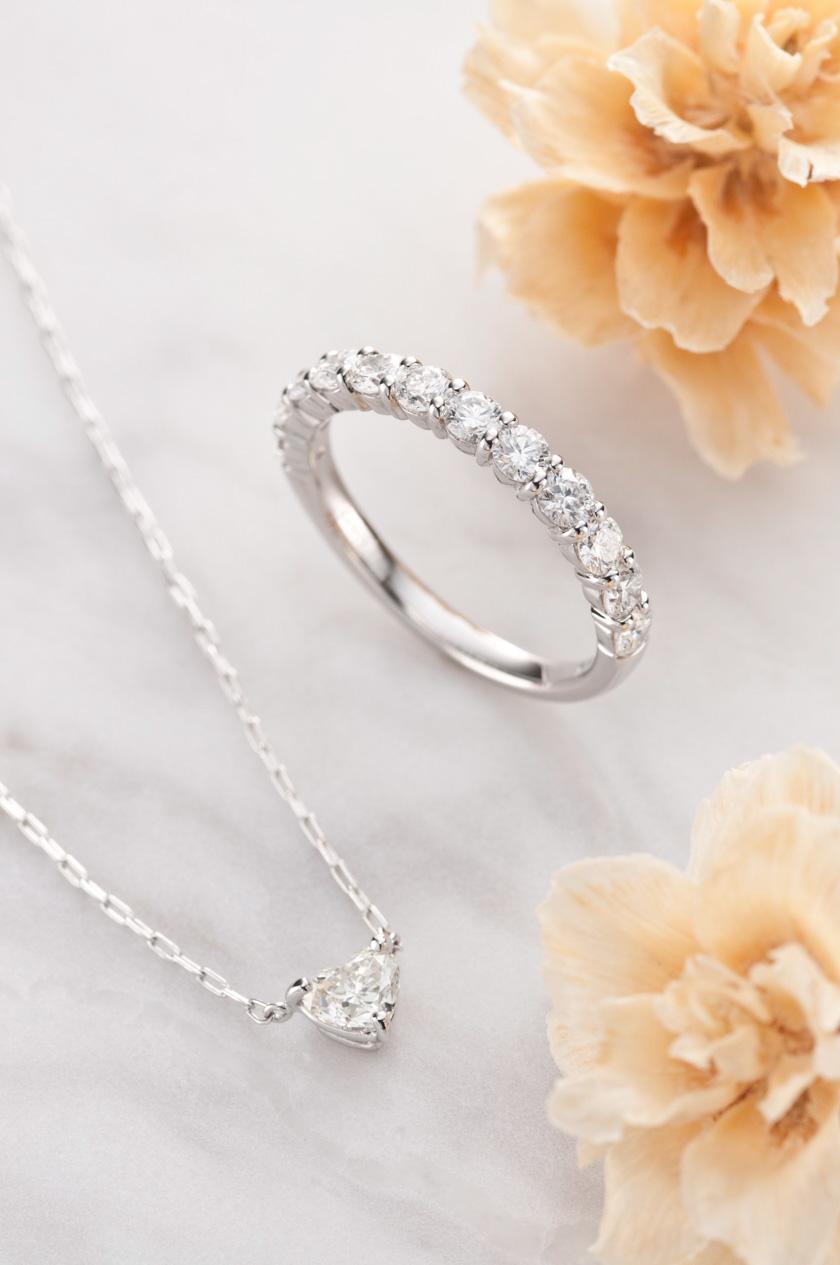 天賞堂カタログ 指輪、ネックレス