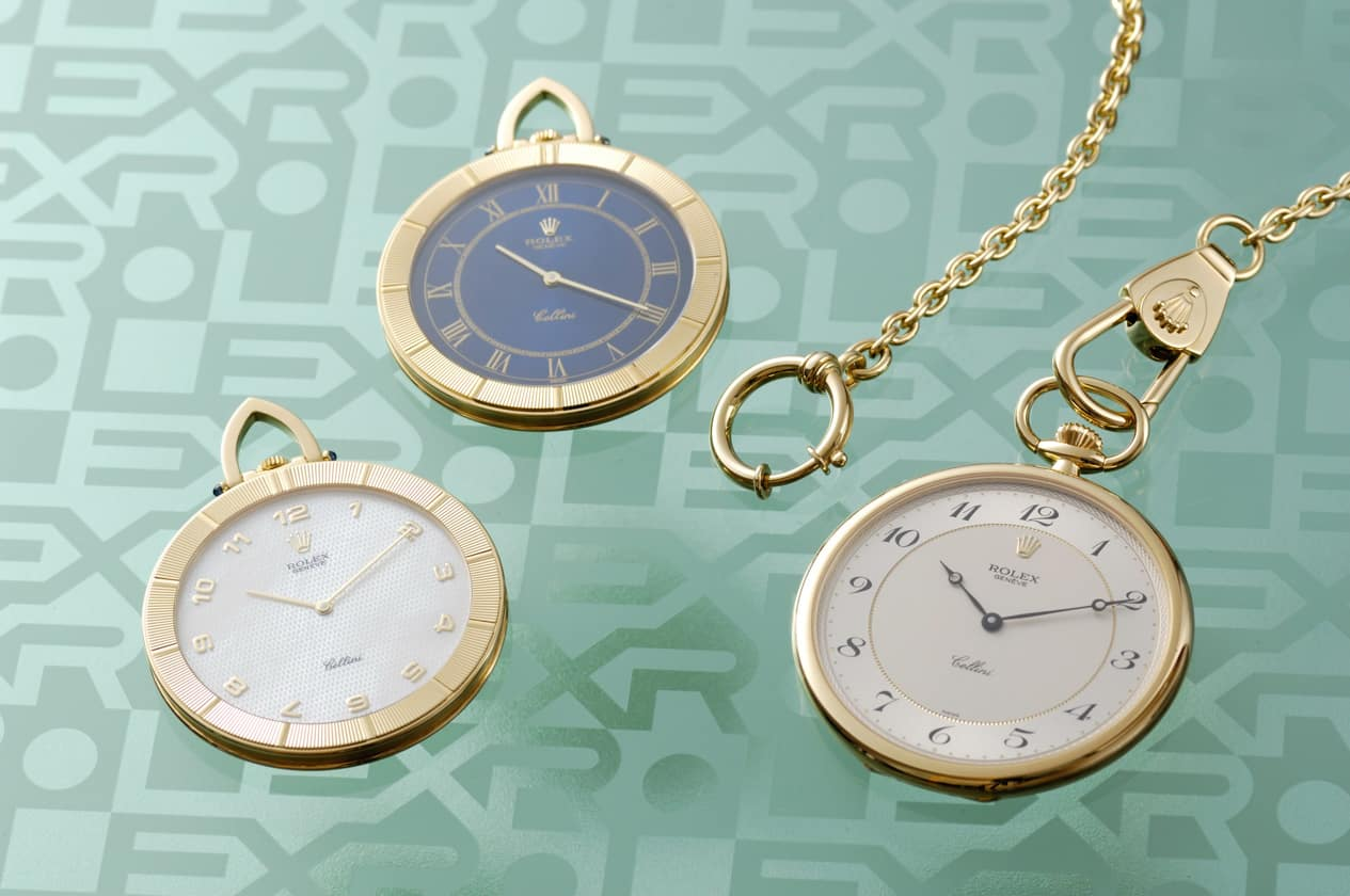Rolex pokes watch